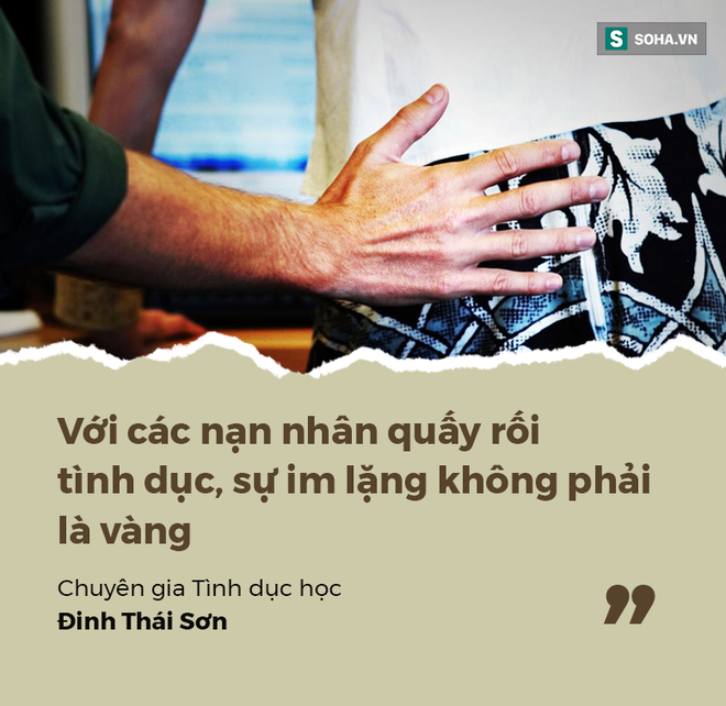 Quấy rối tình dục ở công sở: Trong văn hóa Việt, nạn nhân luôn là người bị thiệt đầu tiên - Ảnh 1.