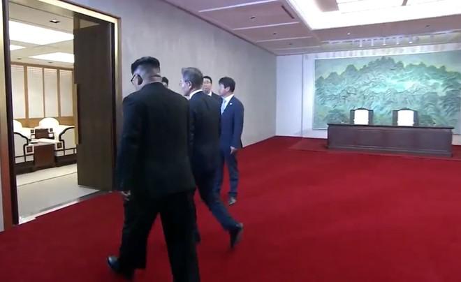 [CẬP NHẬT] Lãnh đạo Hàn - Triều tiếp tục họp kín, sẽ ra tuyên bố chung - Ảnh 1.