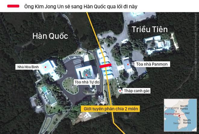 [CẬP NHẬT] Lãnh đạo Hàn - Triều bước vào phòng họp kín: Trang sử mới giờ đây bắt đầu - Ảnh 2.