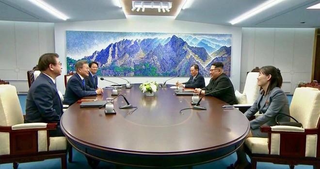 [CẬP NHẬT] Hàn - Triều sẽ có tuyên bố chung nếu đạt đồng thuận - Ảnh 1.