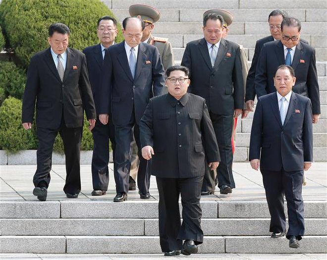 [CẬP NHẬT] Ông Kim Jong-un: Nếu ông Moon mời tới Nhà Xanh, tôi sẵn sàng đến bất cứ lúc nào - Ảnh 2.