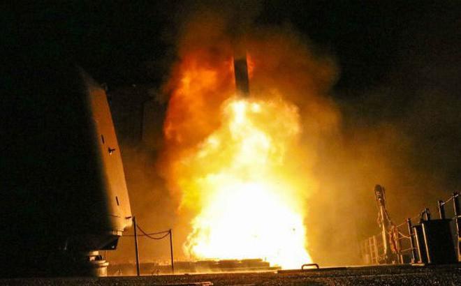 Tên lửa liên quân bắn trúng 100% mục tiêu ở Syria, chuyên gia Mỹ chỉ thẳng: Họ đã nói dối!