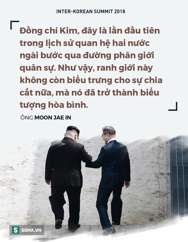 [CẬP NHẬT] Ông Kim Jong-un: Nếu ông Moon mời tới Nhà Xanh, tôi sẵn sàng đến bất cứ lúc nào - Ảnh 1.