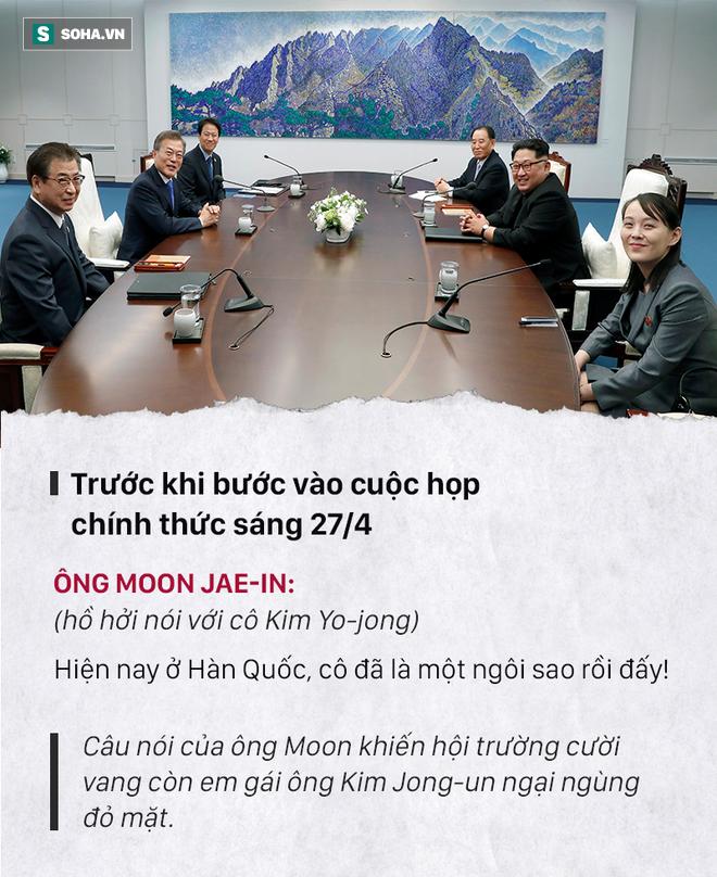 Những đoạn đối thoại thú vị giữa 2 ông Kim Jong-un và Moon Jae-in ở thượng đỉnh liên Triều - Ảnh 8.