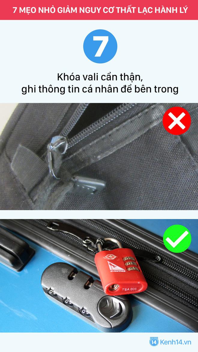 Đi du lịch đừng để bị thất lạc hành lý máy bay với 7 mẹo vặt cực kỳ hữu ích này - Ảnh 6.