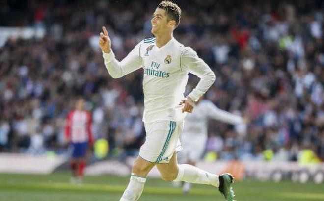 Phá lưới Atletico, Ronaldo giúp Barcelona tiến gần đến ngôi vương