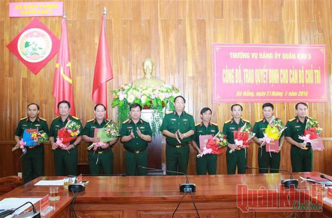 Những nhân sự Bộ Quốc phòng, Quân khu 5 mới được bổ nhiệm - Ảnh 2.
