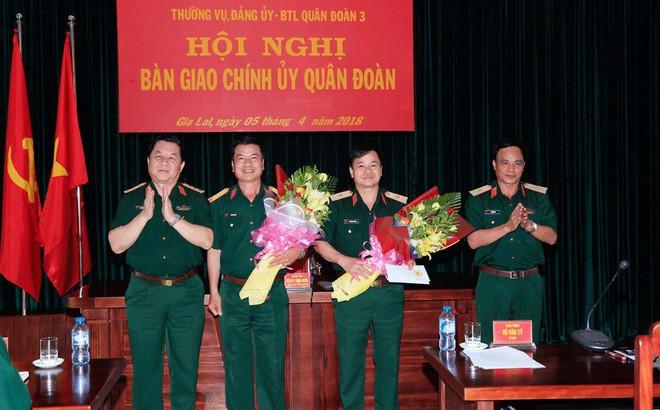 Những nhân sự Bộ Quốc phòng, Quân khu 5 mới được bổ nhiệm