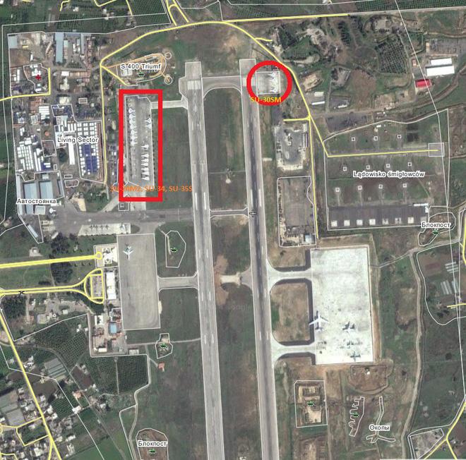 Sợ bị tập kích ở Syria, Nga lập tức giấu chiến đấu cơ Su-34, Su-35 trong... các bao cát - Ảnh 10.