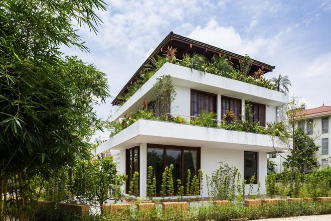 Độc đáo ngôi nhà với nhiều cửa của người Việt trên báo Mỹ - Ảnh 1.