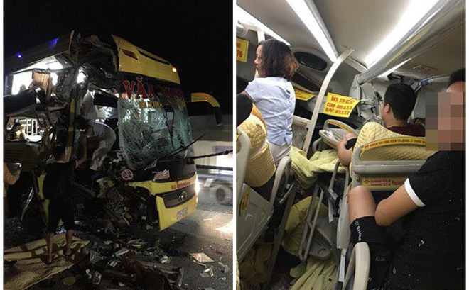 Xe chở khách du lịch bị tông nát đầu: Pha thoát hiểm không tưởng và đêm trắng ở Nghệ An