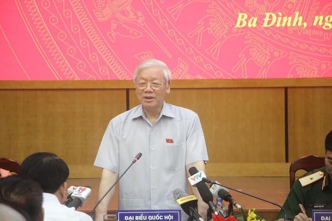 Tổng Bí thư Nguyễn Phú Trọng nói về xử lý ông Đinh La Thăng: Lịch sử đã bao giờ có chưa? - Ảnh 2.