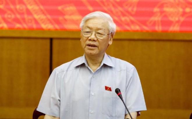 """Tổng Bí thư Nguyễn Phú Trọng nói về xử lý ông Đinh La Thăng: """"Lịch sử đã bao giờ có chưa?"""""""