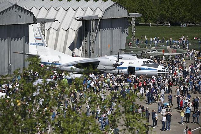 Mãn nhãn màn biểu diễn trên không của máy bay chiến đấu Nga - ảnh 4