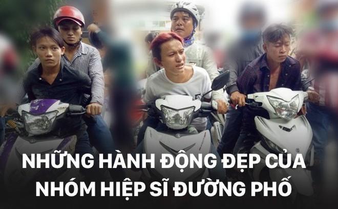 [PHOTO STORY] Hành động đẹp của những hiệp sĩ đường phố giữa đời thường