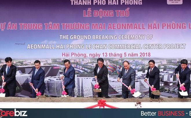AEON khởi công trung tâm thương mại tại Hải Phòng, dự kiến khai trương năm 2020