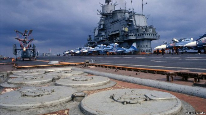 Tàu sân bay vũ trang cực mạnh của Liên Xô: Mỹ và phương Tây không có đối trọng 2