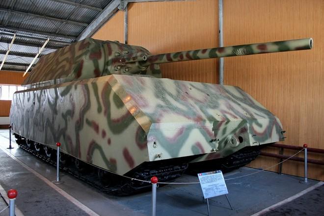 Quái vật thép mang tên chuột nhắt: Dòng xe tăng nặng nhất thế giới của Phát xít Đức - Ảnh 2.