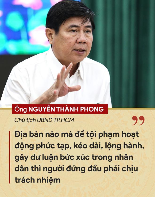 Những tuyên bố đanh thép của lãnh đạo về tội phạm cướp giật ở TP.HCM - ảnh 1