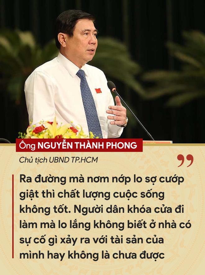 Những tuyên bố đanh thép của lãnh đạo về tội phạm cướp giật ở TP.HCM - ảnh 3