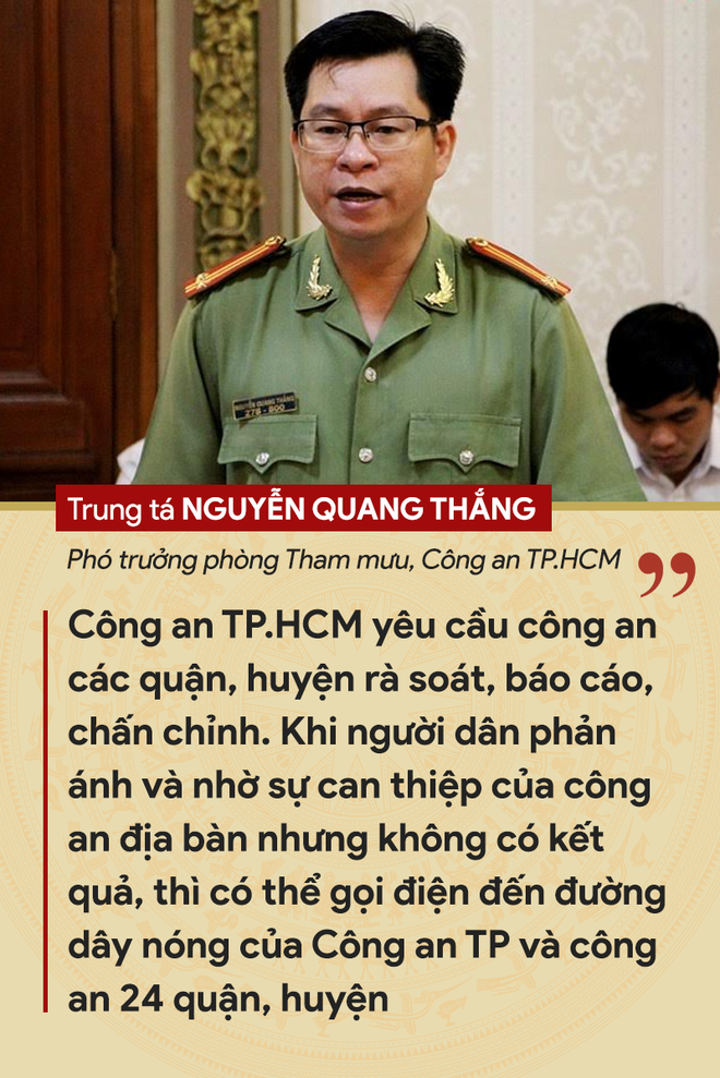 Những tuyên bố đanh thép của lãnh đạo về tội phạm cướp giật ở TP.HCM - ảnh 7