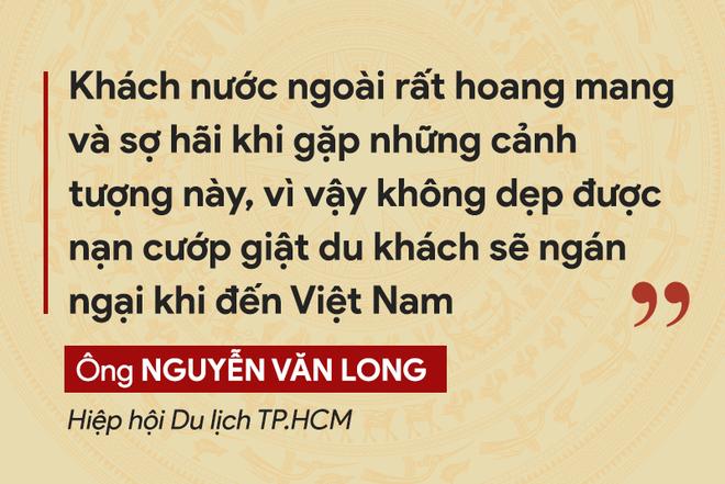 Những tuyên bố đanh thép của lãnh đạo về tội phạm cướp giật ở TP.HCM - ảnh 8