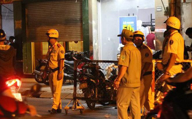 Hàng chục cảnh sát truy bắt đối tượng nghi có liên quan đến vụ 2 hiệp sĩ bị đâm chết