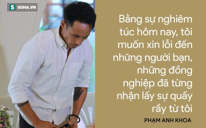 Cái cúi đầu của Phạm Anh Khoa và nỗi đau của người bố không bảo vệ được con mình!