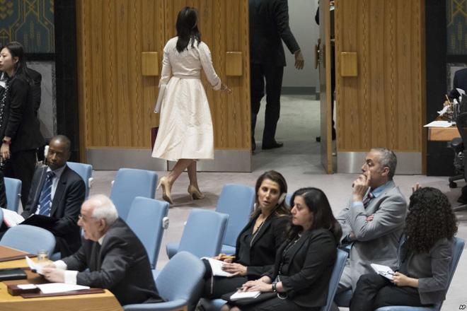 24h qua ảnh: Đại sứ Mỹ bỏ đi khi người đồng cấp Palestine lên tiếng về Dải Gaza - Ảnh 4.