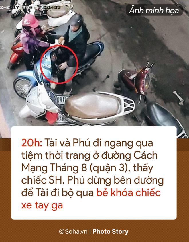 [PHOTO STORY] 13 giây gây án của tên cướp Tài mụn khi bị các hiệp sĩ vây ráp - Ảnh 5.