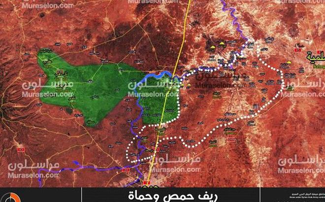 Quân đội Syria bức hàng phe thánh chiến, giải phóng một vùng rộng lớn ở Homs, Hamas