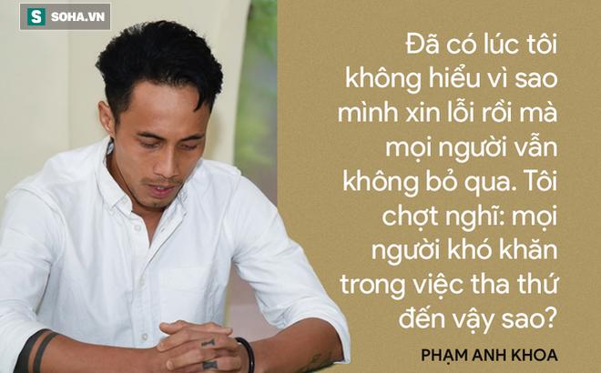 Bạn thân nói gì về hành động xin lỗi của Phạm Anh Khoa?