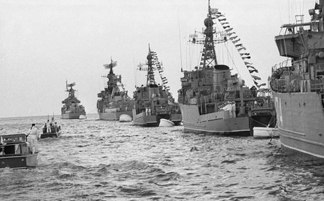Ảnh: 235 năm kiêu hùng của Hạm đội Biển Đen Nga