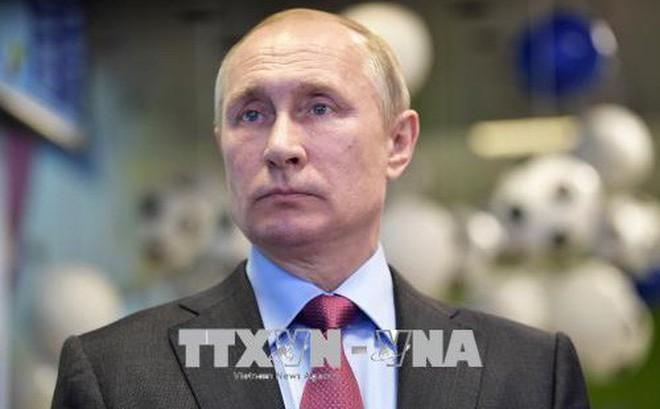 Tổng thống V.Putin: Tàu chiến Nga sẽ thường trực tại Địa Trung Hải