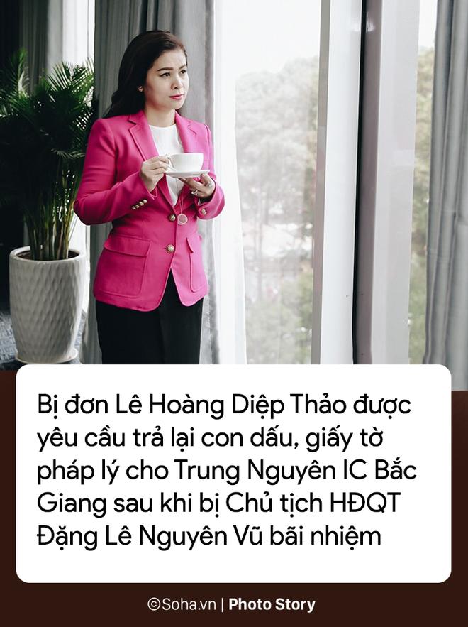 [PHOTO STORY] 8 điểm mấu chốt trong vụ kiện 1.709 tỷ của Trung Nguyên với bà Lê Hoàng Diệp Thảo - Ảnh 2.