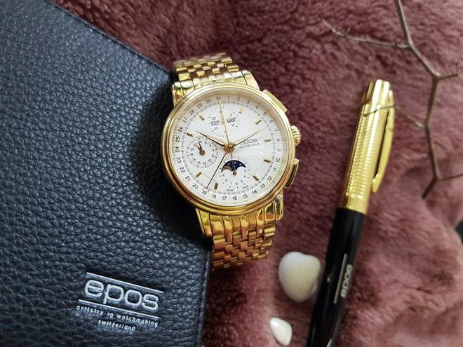 """Mua đồng hồ nam chính hãng, """"bỏ túi"""" ngay 100 triệu   - Ảnh 4."""