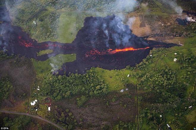 Hawaii cảnh báo đỏ: Núi lửa hoạt động mạnh, cột khói cao đến hơn 3.600m - Ảnh 4.
