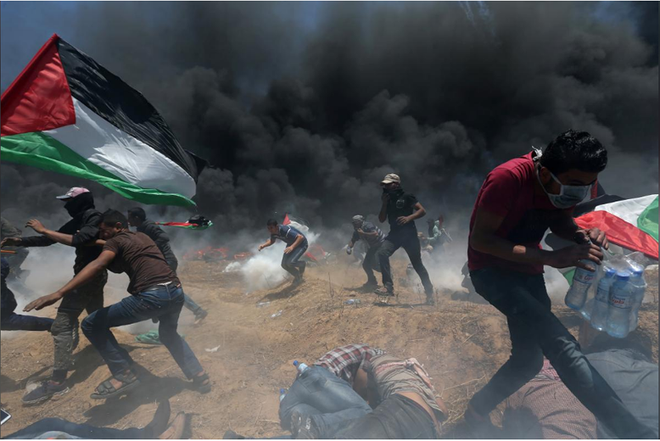 Israel không kích cơ sở sản xuất vũ khí của Hamas - ảnh 1