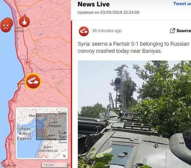 Pantsir-S1 phòng không Nga chạy khỏi căn cứ Khmeimim, Syria: Diễn biến rất nguy hiểm - Ảnh 3.