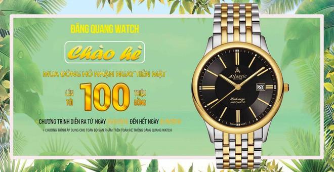"""Mua đồng hồ nam chính hãng, """"bỏ túi"""" ngay 100 triệu   - Ảnh 5."""