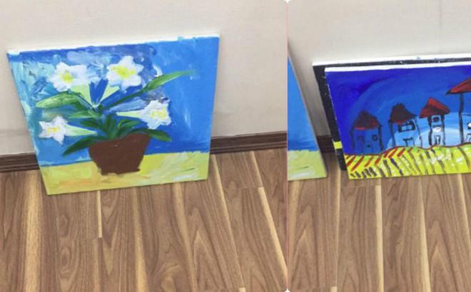 Em bé 5 tuổi và những bức vẽ khiến người lớn phải cùng thốt lên một lời cảm thán