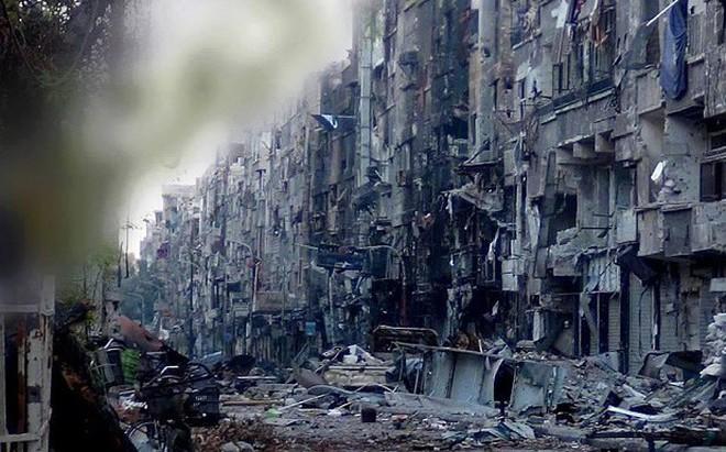 Nga-Syria tấn công ồ ạt trại tị nạn Palestine, giải phóng toàn bộ Damascus