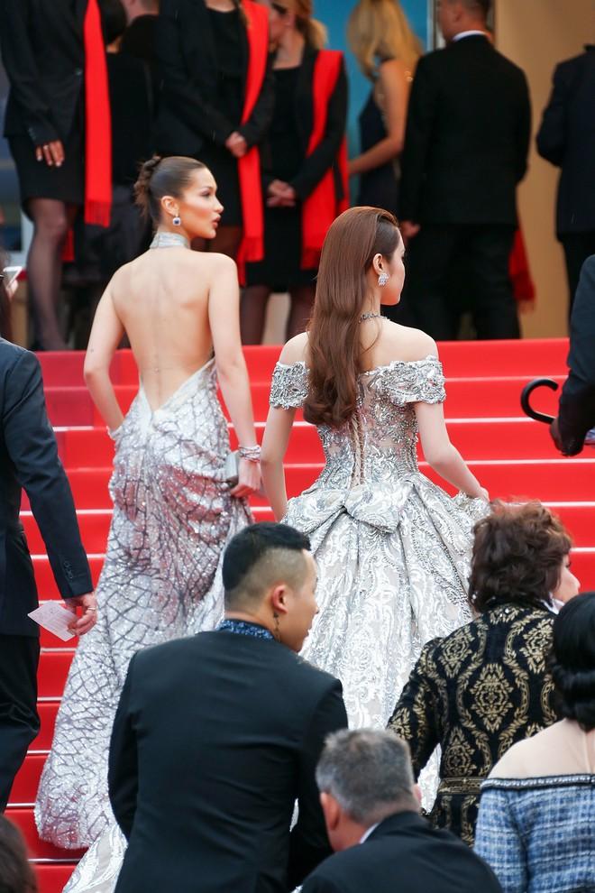 Trên thảm đỏ LHP Cannes 2018, sao Việt mặc nóng bỏng hơn cả sao quốc tế - ảnh 9