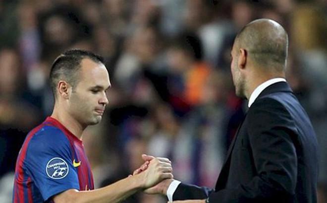 Iniesta đến Man City làm phó tướng cho Pep Guardiola?