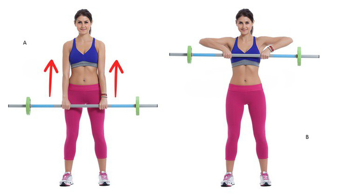 10 động tác giúp loại bỏ mỡ thừa vùng lưng và nách hiệu quả: Chị em nên tập để tự tin hơn - Ảnh 4.