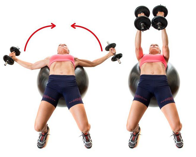 10 động tác giúp loại bỏ mỡ thừa vùng lưng và nách hiệu quả: Chị em nên tập để tự tin hơn - Ảnh 5.