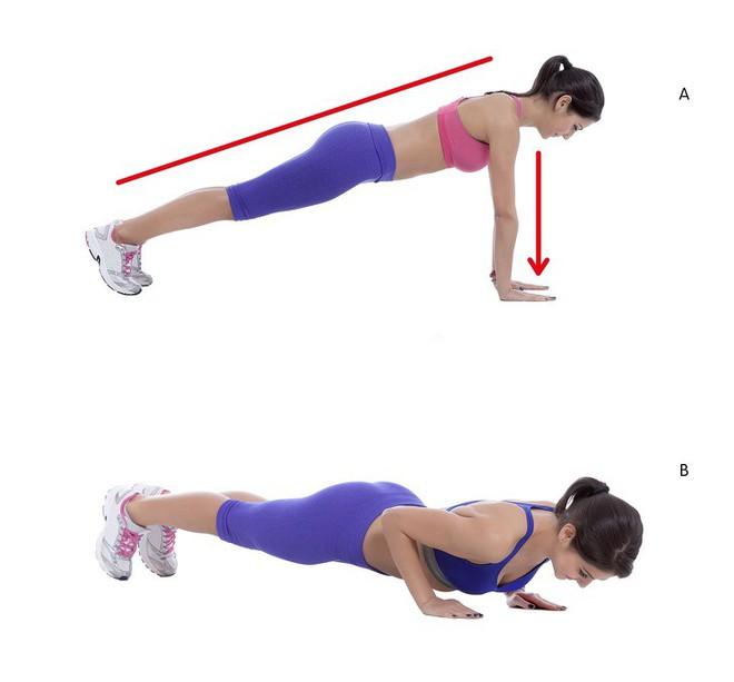10 động tác giúp loại bỏ mỡ thừa vùng lưng và nách hiệu quả: Chị em nên tập để tự tin hơn - Ảnh 6.