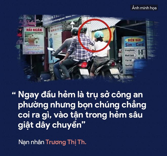 [PHOTO STORY] Dân thường, người bị nạn, du khách thảng thốt về nạn cướp giật ở Sài Gòn - Ảnh 10.