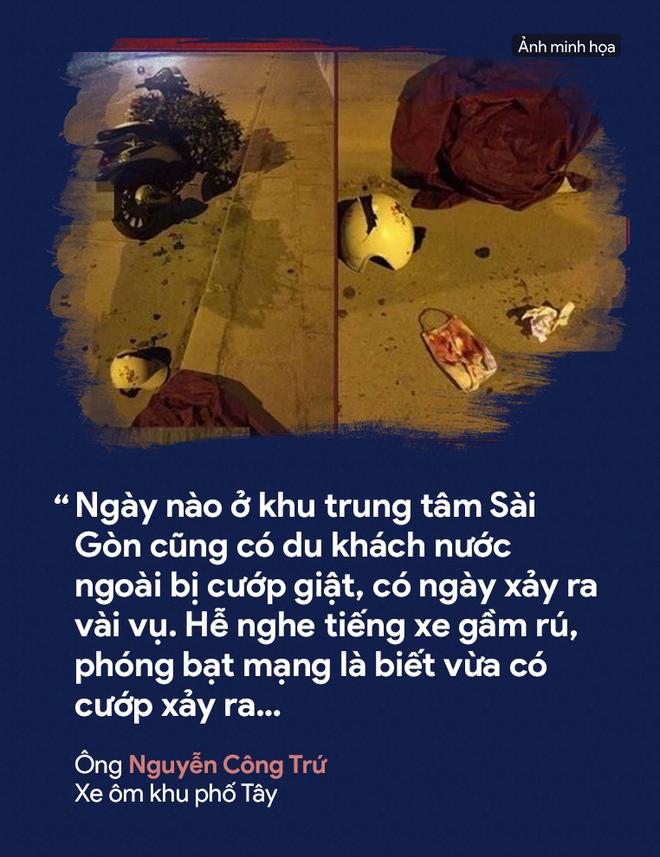 [PHOTO STORY] Dân thường, người bị nạn, du khách thảng thốt về nạn cướp giật ở Sài Gòn - Ảnh 12.
