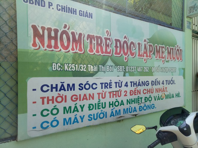Vụ bạo hành trẻ em ở Đà Nẵng: Chủ cơ sở nói đó là phương pháp dọa trẻ - Ảnh 1.